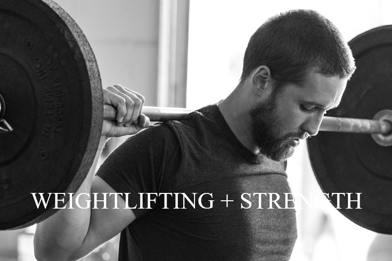 weightlifting + strength